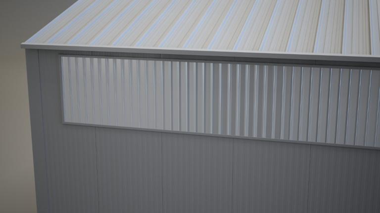 Wandlichtband Polycarbonat